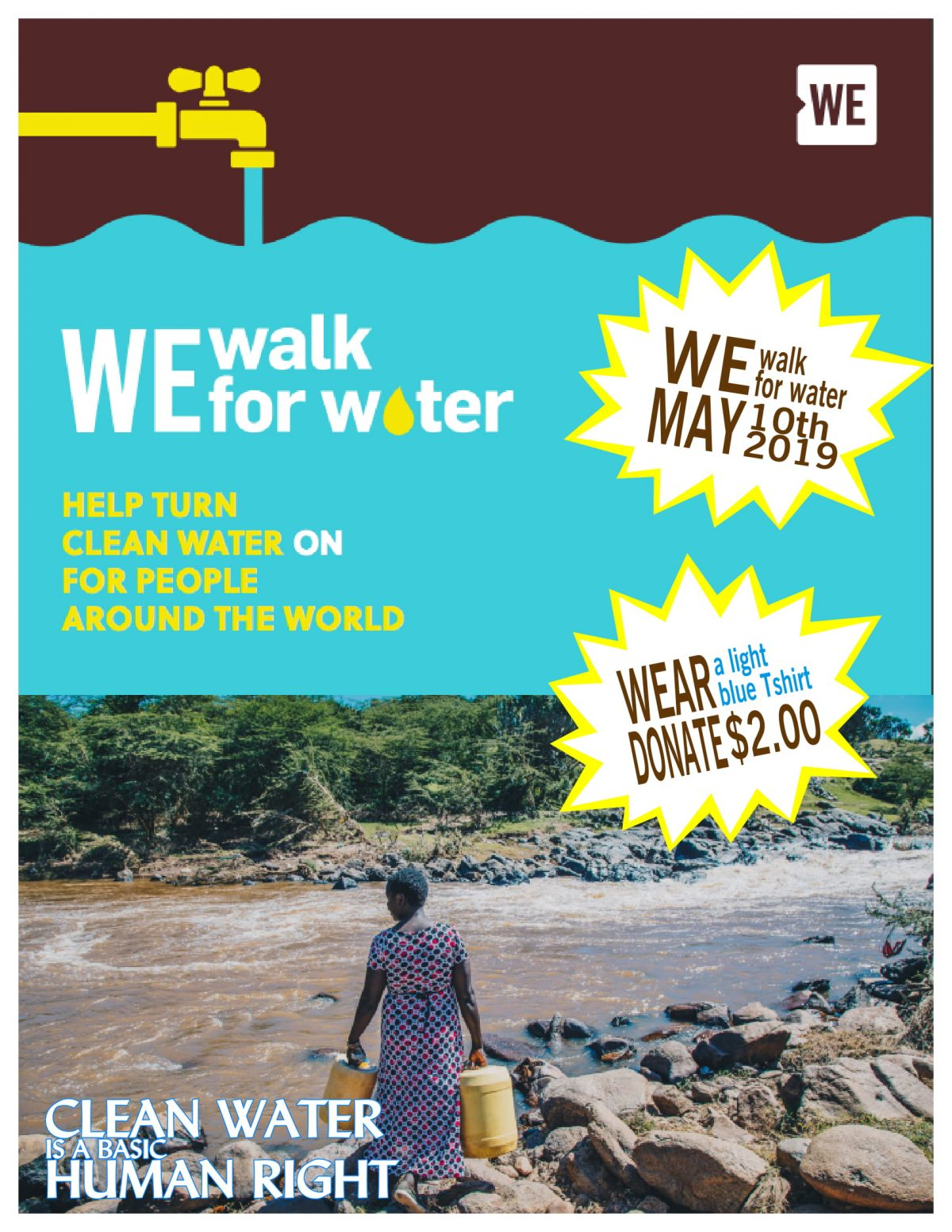 WE Walk for Water!
